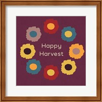 Framed Happy Harvest
