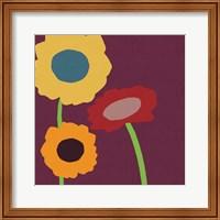 Framed Multicolor Flowers