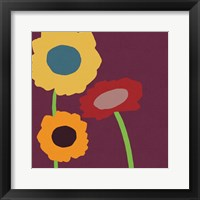 Framed Multicolor Flowers
