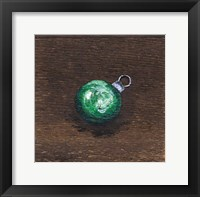 Framed Green Bulb