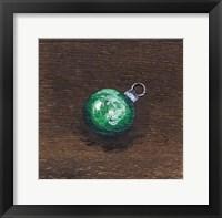 Framed Green Bulb