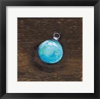 Framed Blue Bulb