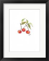 Framed Cherries