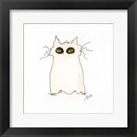 Framed Ghost Cat
