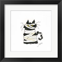 Framed Mummy Cat