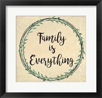 Framed Family is Everything