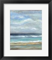 Framed Seashore VII