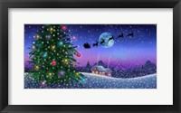 Framed Santa's Sleigh
