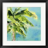 Framed Palm Tree Afternoon