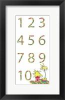 Framed Camper Numbers