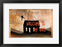Framed Welcome to my Web