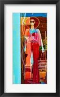 Framed Lady on Display II