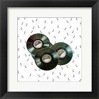 Framed Vintage Records