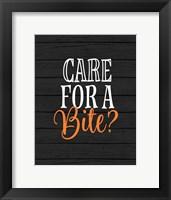 Framed Care for a Bite?