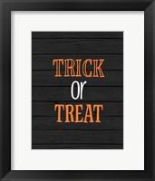 Framed Trick or Treat