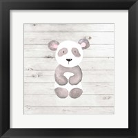 Framed Watercolor Panda