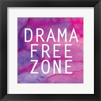 Framed Drama Free Zone