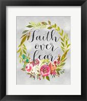 Framed Faith Over Fear