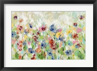 Framed Springtime Meadow Flowers
