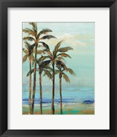 Framed Copper Palms II