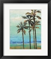 Framed Copper Palms I