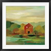 Framed October Farm II v2