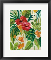 Framed Tropical Jewels II