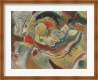 Framed Small Picture with Yellow, 1914