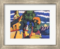 Framed Village Church in Riegsee, Bavaria, 1907