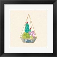 Framed Succulent Terrarium II