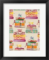 Framed Colorful Stacks