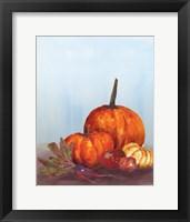 Framed Watercolor Harvest I
