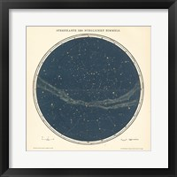 Framed Celestial Sphere North