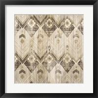 Framed Natural History Lodge Pattern VI