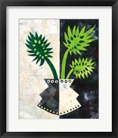 Framed Pretty Palms III