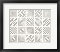 Framed Multi Box Op Art