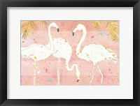 Framed Flamingo Fever IV
