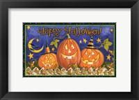 Framed Halloween Wishes I