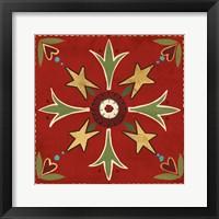 Framed Festive Tiles III