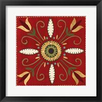 Framed Festive Tiles I