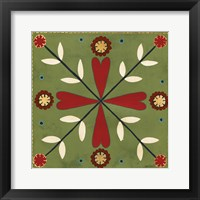 Framed Festive Tiles II