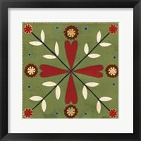 Framed Festive Tiles II