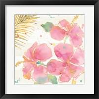 Flamingo Fever VII Framed Print