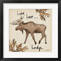 Framed Lodge Life IV