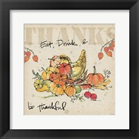 Framed Be Thankful III
