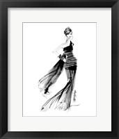 Framed Modern Fashion IV