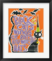 Framed Bats and Black Cats II