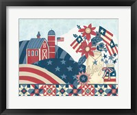 Framed American Country I