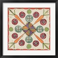 Framed Farmers Feast Tiles I