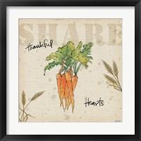 Framed Farmers Feast Harvest V